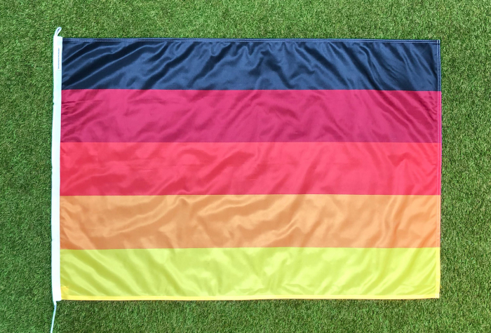 Deutschland Multicolor Flagge
